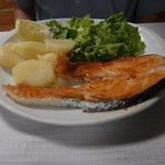 Salmon (about 10 euros I think!)