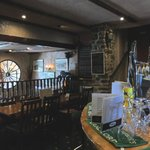 Inside Bryherstones Inn, looking to the rear