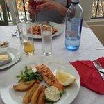 Salmon at Bar Mingo