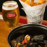 Mussels and Belgian-Style Frites