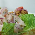 ceviche de pescado (fish marinated)