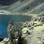 scorcio del Lago di Antermoia