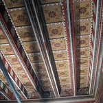 The Bishop's painted room, in this case the ceiling