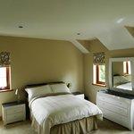En-suite bedroom with river view