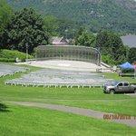Amphitheater overlooking the Hudson, USMA