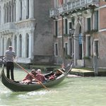 "We were ""on"" the Grand Canal -- what a great spot we had!"