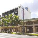Polynesian Plaza Exterior