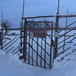 Entrance to the reindeer pen