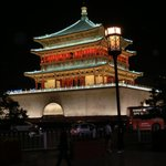 Centralt i Xian ligger denna pagod