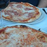 Il David Santa Margherita pizza