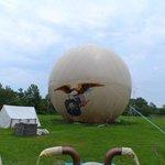 1812 Military hot air balloon
