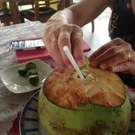 Lime in the coconut.