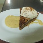 Homeade Pecan Pie, WIth Nutmeg Pudding