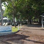 Boardwalk restaurent area