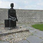East German Memorial and Betolt Brecht quote