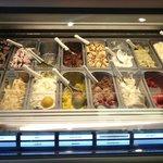 Homemade gelato at Cortona!