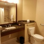 Large and spacious bathroom