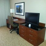 Desk and TV console