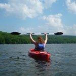 Wisp Kayak at deep Creek Lake