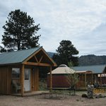 Cabins, cottges, loft cabins, yurts