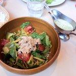 El Torito Chunky Chicken and Avocado Salad (Half-Size)