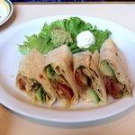 El Torito Vegetable Burrito