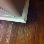 A/C leaking in floor