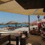 Aqua Beach from the Bar