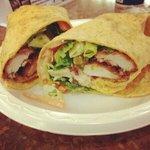 Krispy Buffalo Chicken Wrap