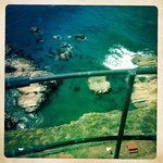 View down from top of Lighthouse