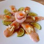 Whitefish Tataki