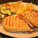 Paninis served with salad and crisps from £4.00