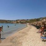 La plage de Livadia