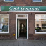 Cool Gourmet shop front