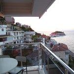 terrace view 5th floor room