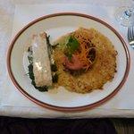 Salmon, delicious Rosti