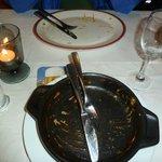 good food = empty plate