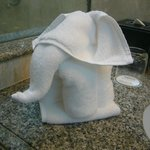 こんな形の象が迎えてくれます