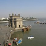 View of Gateway of India from room