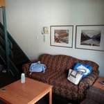 Loft room sofa