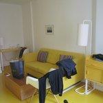 Wohnbereich in der Junior Suite