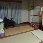 A large tatami room