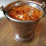 Balti Hinduhush (Chicken Handi)