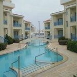 Kissos superior rooms and lagoon pool