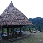 The accommodations are mostly genuine Ifugao huts that were bought elsewhere, disassembled and r