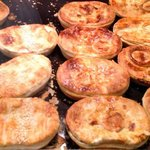 Selection of pies