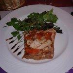 Terrine de gras -double au foie-gras de canard maison