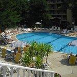 Hotel Perla pool