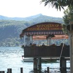 Lakeside restaurant