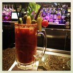 Hair of the Bear giant Bloody Mary is the best I've had.